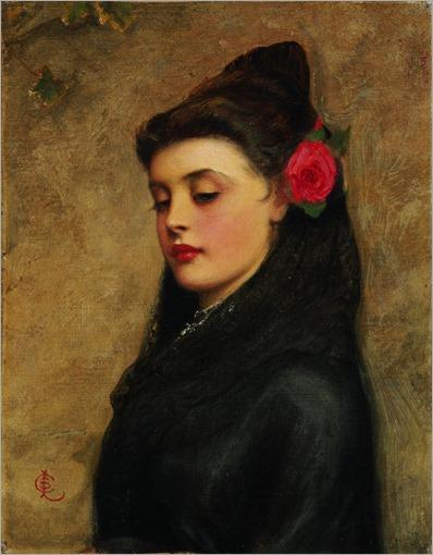 charles-sillem-lidderdale-spanish-girl