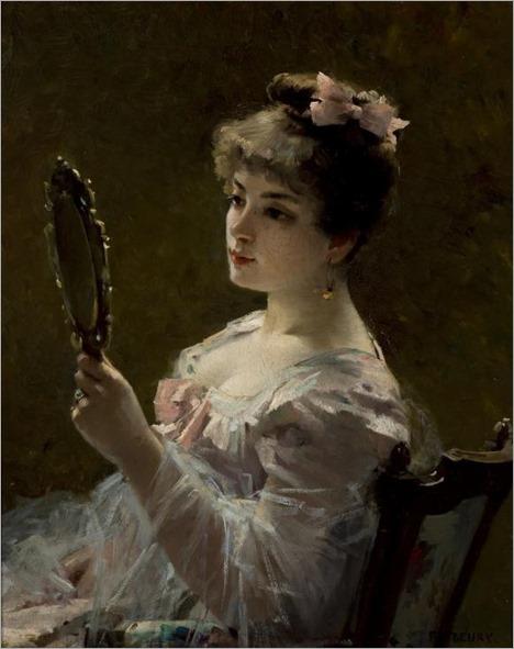 Fanny Fleury-1888-the coquette