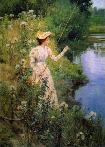 Francis Coates Jones (american, 1857-1932)_The Gentle Angler
