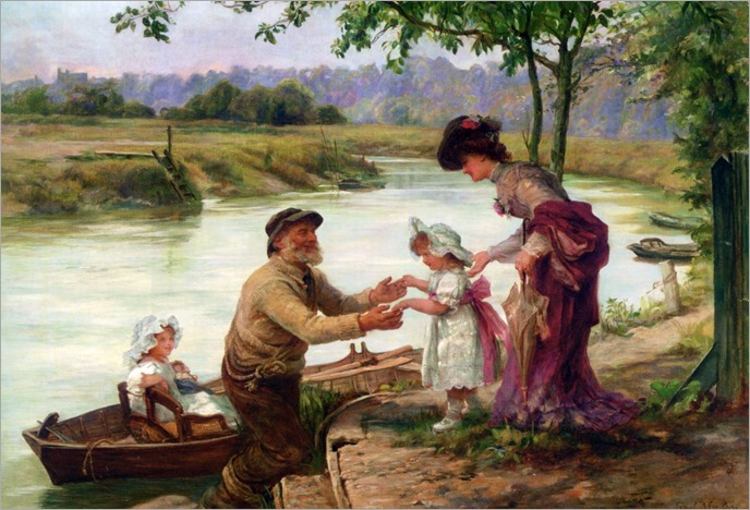 Frederick Morgan (english, 1856-1927)- Dainty Fares