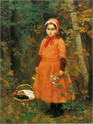 Gari-Melchers-Little-Red-Riding