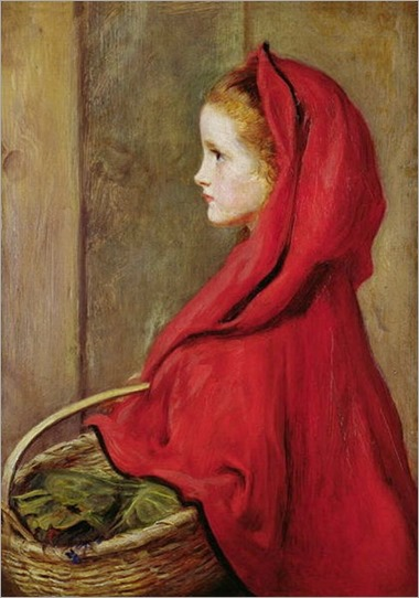 John Everett Millais - Little Red Riding Hood