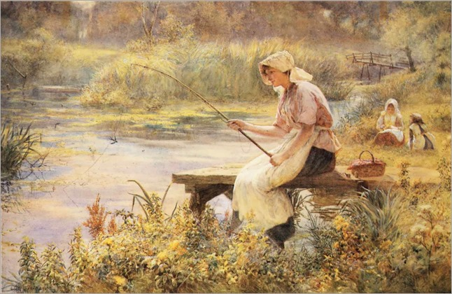 Joseph Kirkpatrick (English, 1872-1936)- The Gentle Art
