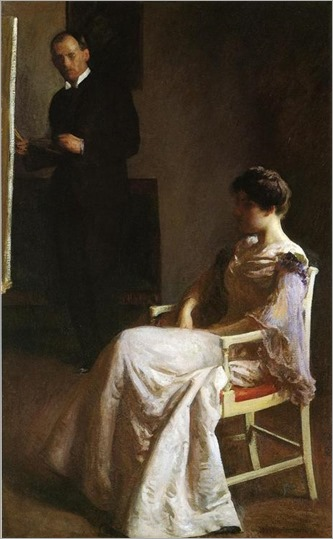 Joseph Rodefer DeCamp, In the Studio, (1890-95)