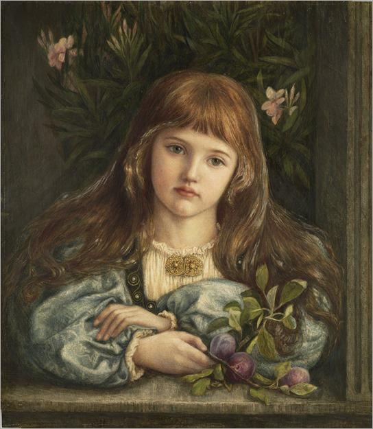 La pensierosa - Marie Spartali Stillman (british)