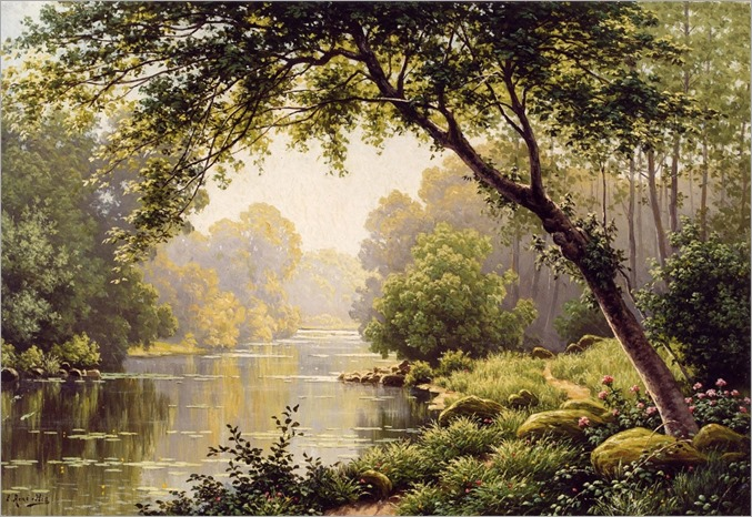 Les Reflections sur la Marne - Rene Charles Edmond His