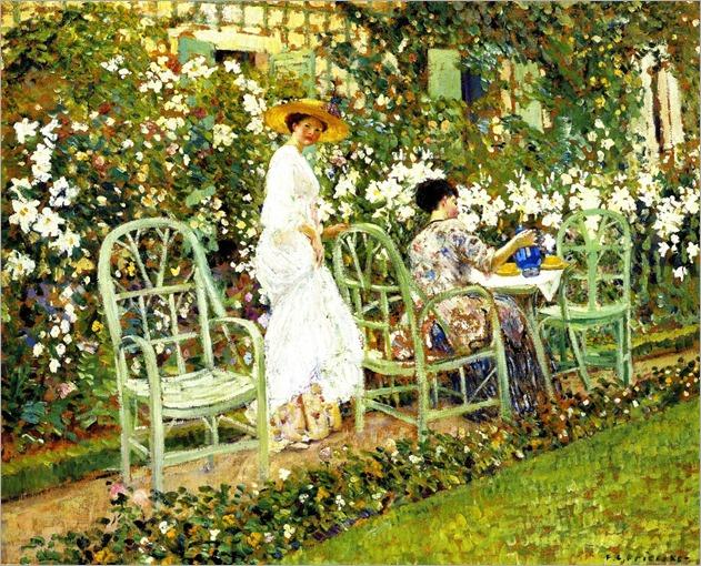 Lilies -1911- Frederick Carl Frieseke (american painter)