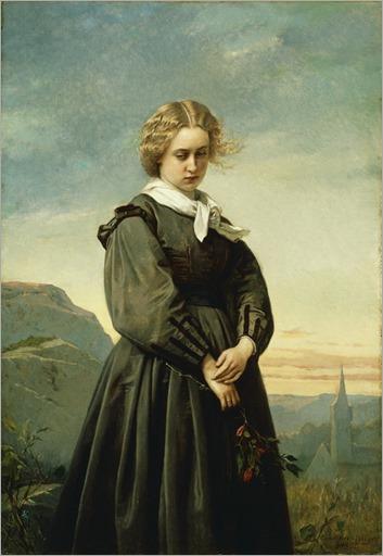 Love's Melancholy, 1866 - Constant Mayer