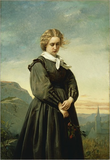 Love's Melancholy, 1866 - Constant Mayer