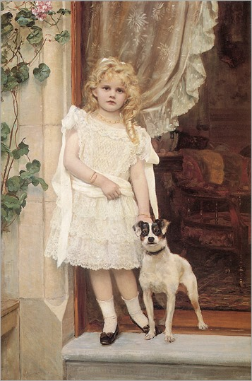My Best Friend - Robert Cree Crawford (scottish painter)