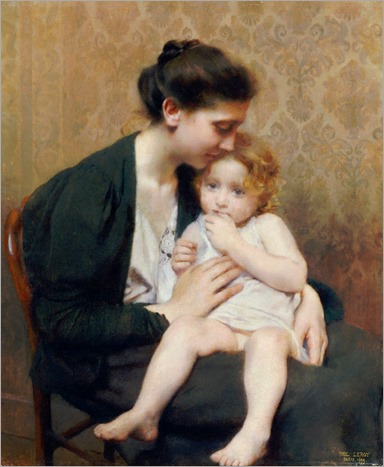 Paul Alexandre Alfred Leroy (1860-1942) - Maternity