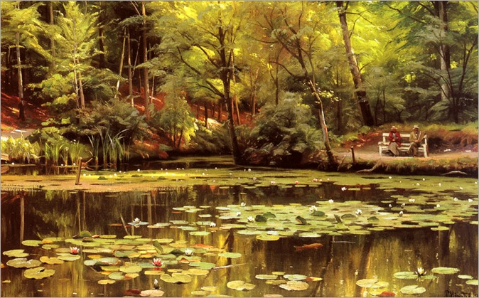 PederMorkMonsted-waterlilies