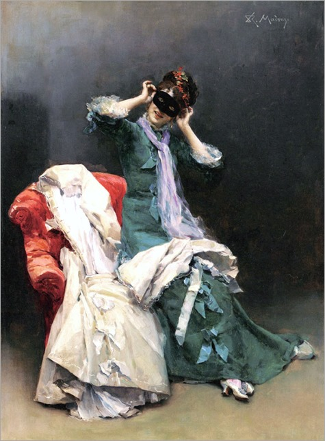 Preparing for the Costume Ball - Raimundo Madrazo y Garreta