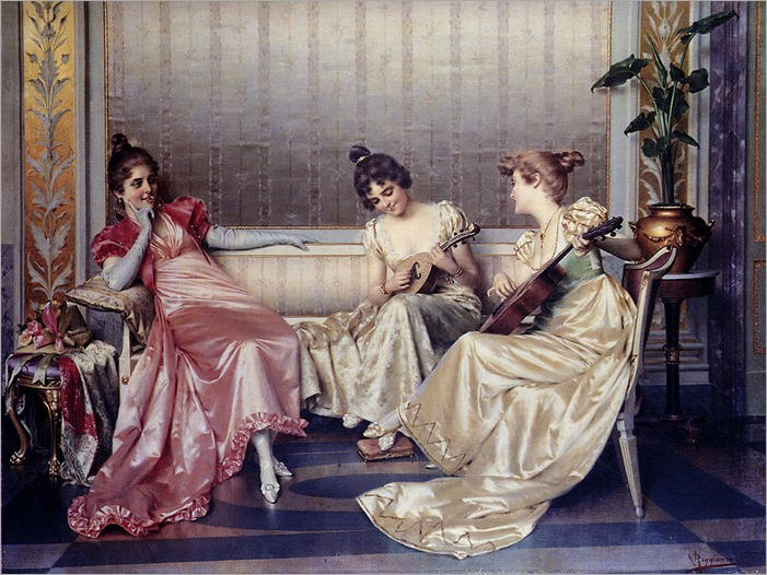 Reggianini_Vittorio_Elegant_Figures_In_An_Interior