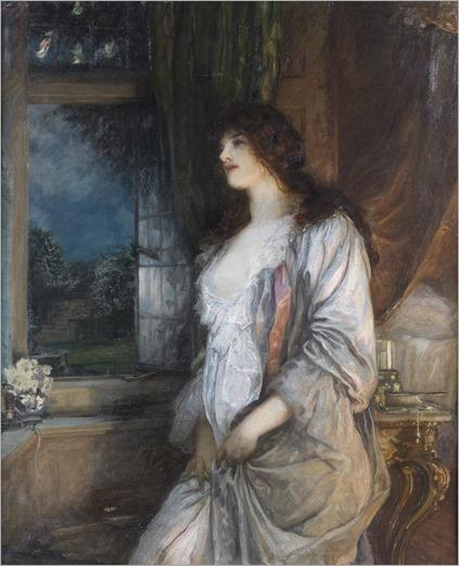 Robert Walker MacBeth -(scottish-1848-1910) The Nightingale's Song 1904
