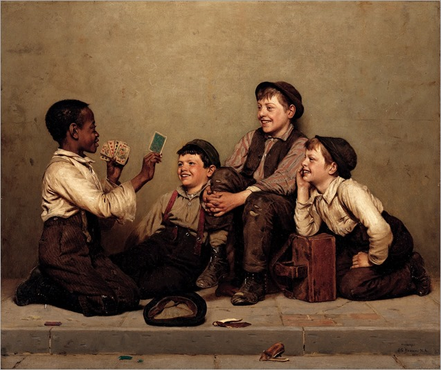 The Card Trick 1880–89 John George Brown