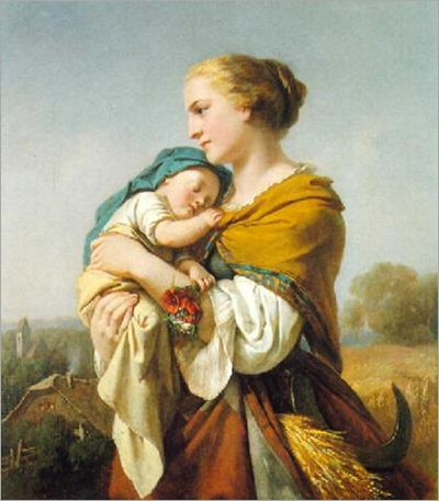 The Harvesters - Carl Adolf Gugel