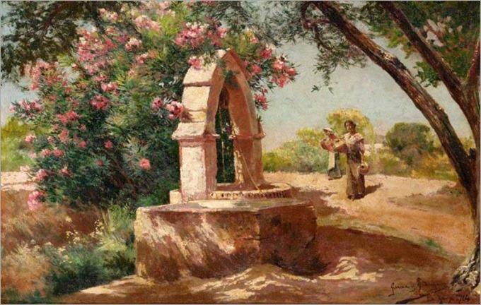 The Well at Jara-Manuel Garcia y Rodriguez