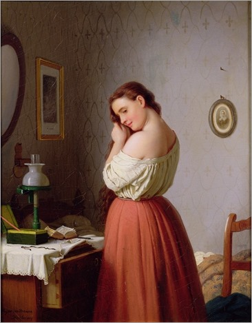 young-woman-plaiting-her-hair-Meyer-von-Bremen (2)