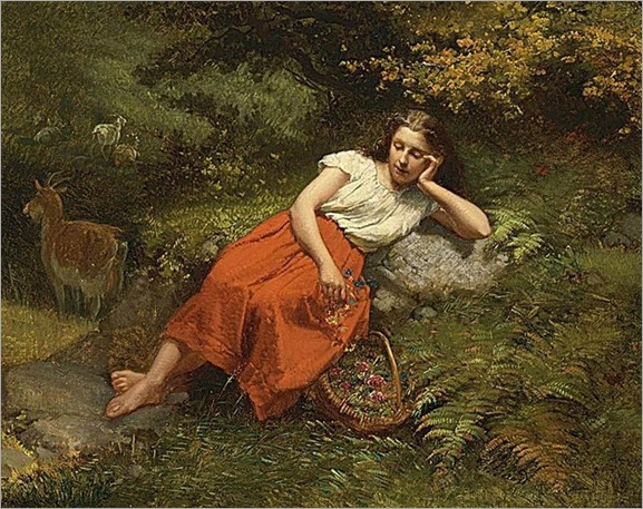a moment of rest-Theodore Gerard