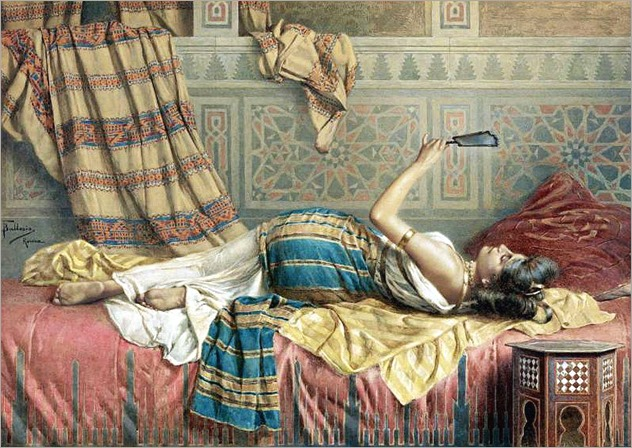 a reflexion of harem beauty-f.Ballesio_