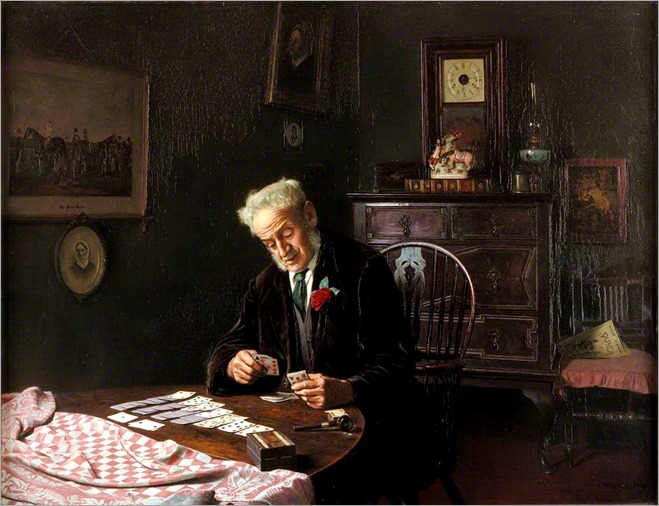 Charles Spencelayh (1865-1958)-paciencia