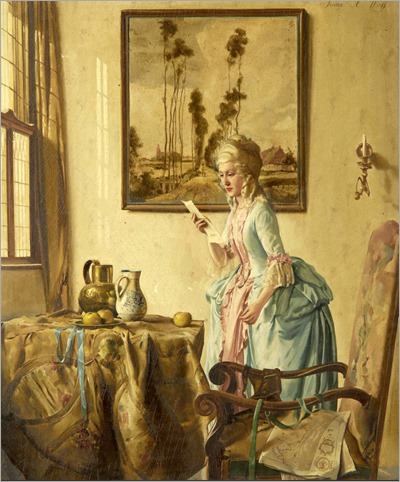 Franz Xaver Wolf - the letter