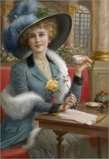 From Paris with Love. Emile Vernon (French, 1890–1920)