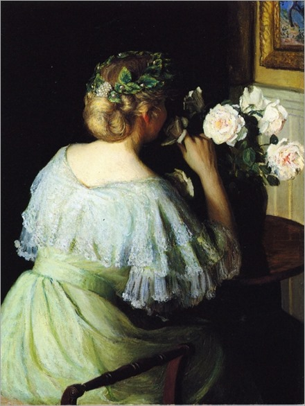Lilla-Cabot-Perry_Scent_of_Roses_also_known_as_Girl_and_Roses_
