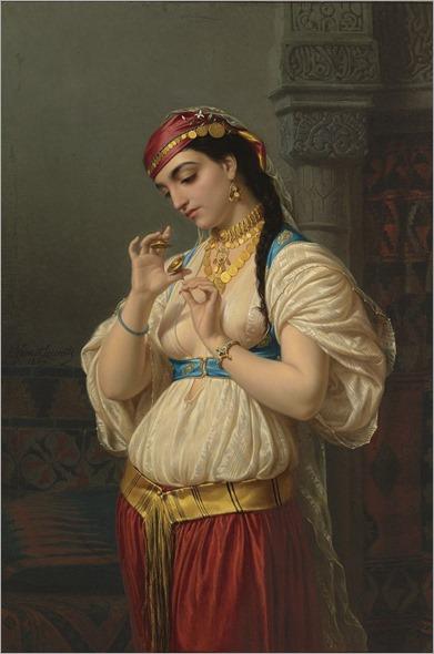Émile Vernet-Lecomte - Aimée, une jeune égyptienne