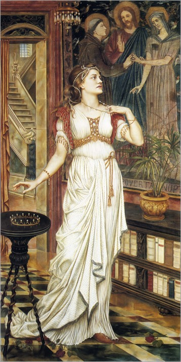 Morgan_Evelyn_de_The_crown_of_Glory_1896