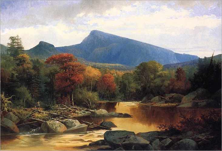 Mount Carter Autumn in the White Mountains - John Mix Stanley
