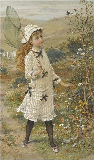 The Butterfly Catcher -Coleman