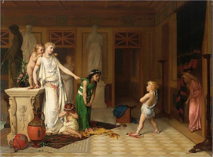 The Children's Quarrel - Joseph Coomans