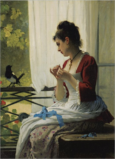 the magpie - Joseph Caraud