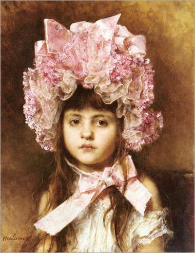 the-pink-bonnet-Harlamoff