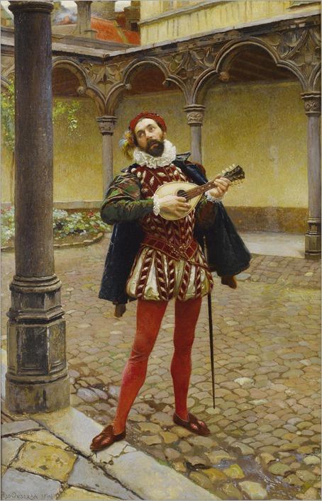The Song of Love -1894- Pierre Jan van der Ouderaa (belgian painter)