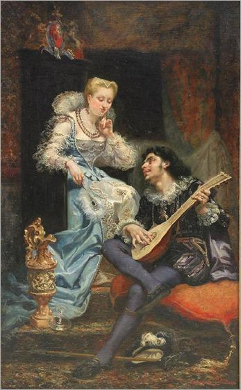 Théodore Le Monnier - La Sérénade