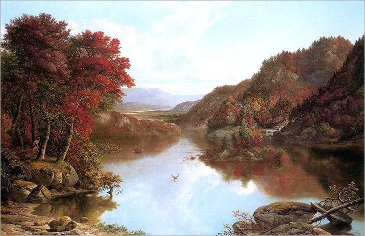 William Mason Brown - Autumn Landscape