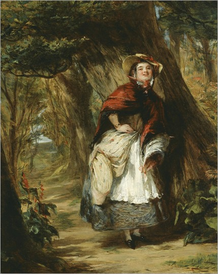 William Powell Frith - Dolly Varden