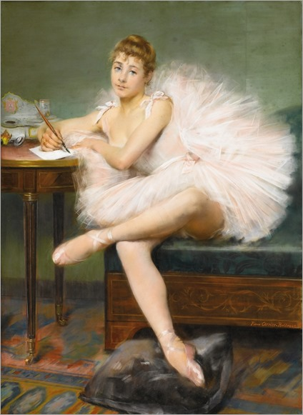 A Ballerina. Pierre Carrier-Belleuse (French, Academic, 1851-1931)