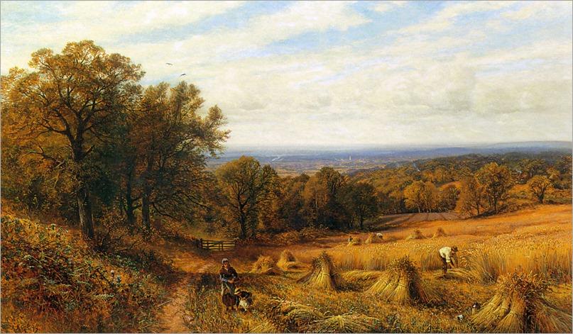 Alfred Augustus Glendening Jr - Harvest Time