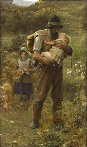 Arthur Hacker (1858-1919)_Home_from_the_fields
