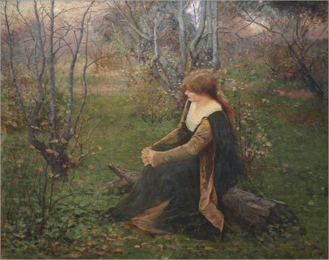 Autumn Memories -1899- Frederick McCubbin (australian painter)