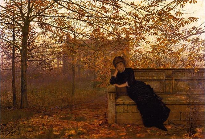 autumn-regrets-John Atkinson Grimshaw