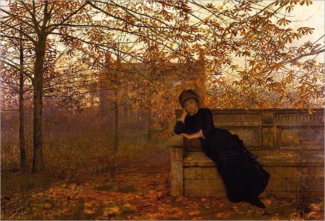 autumn-regrets-John Atkinson Grimshaw