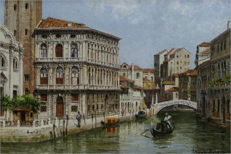 Brandeis_Antonietta_Piazza_St_Marco_Venice