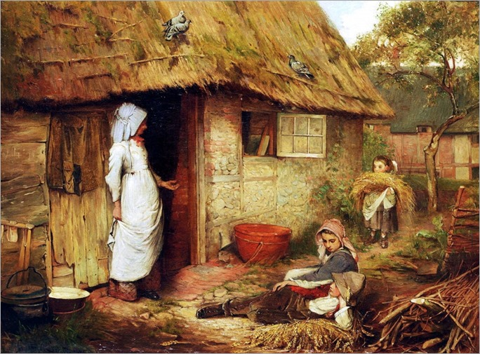 Carlton_Alfred_Smith_British_18531946_Outside_the_cottage