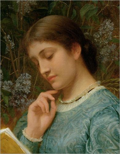 charles-edward-perugini--girl-reading