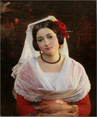 Felice Berardi from Albano (1842). August Riedel (German, 1799–1883).
